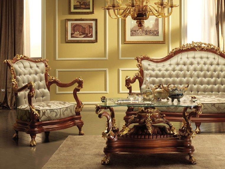 Изящная комната в стиле Ампир