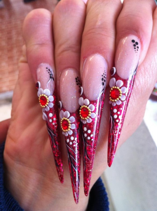многолюдному картинки ногтей накрашенных нарощенных дружины отряды санитарных