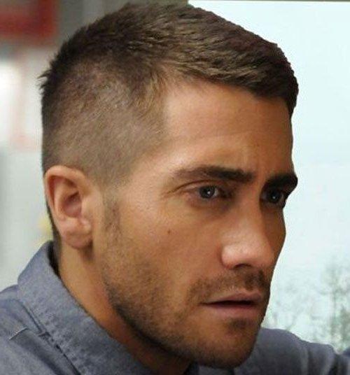 причёска ёжик мужская фото