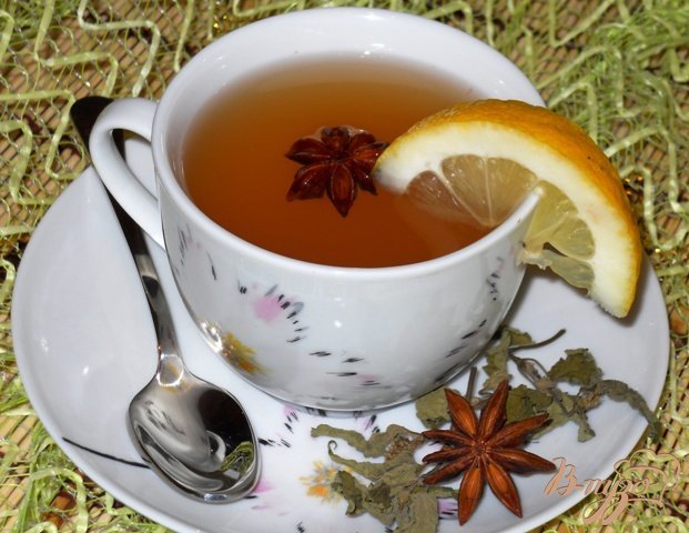 Имбирный чай с мятой рецепт