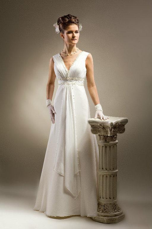 Свадебный букет к платью в стиле ампир, цветы минск цены