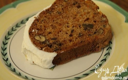морковный пирог с орехами рецепт с фото