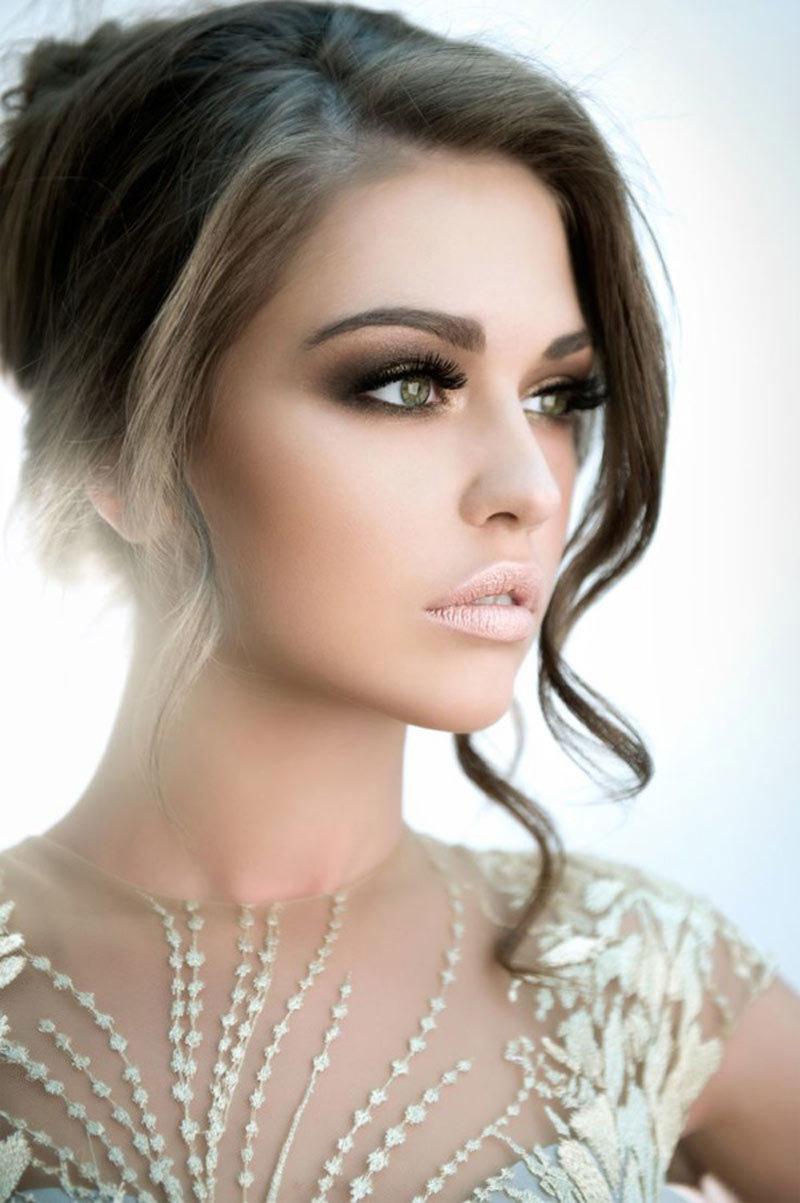 Модный свадебный макияж  свадебный-макияж-экстравагантный