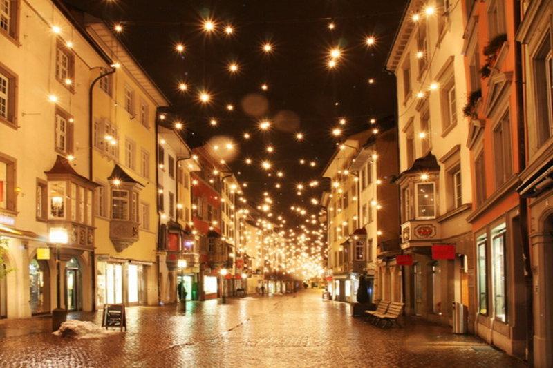 Улицы в новый год