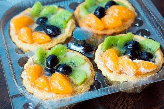 корзинки с фруктами рецепт с фото