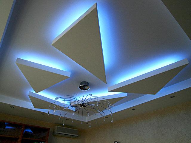 подвеска светодионая натяжного потолка