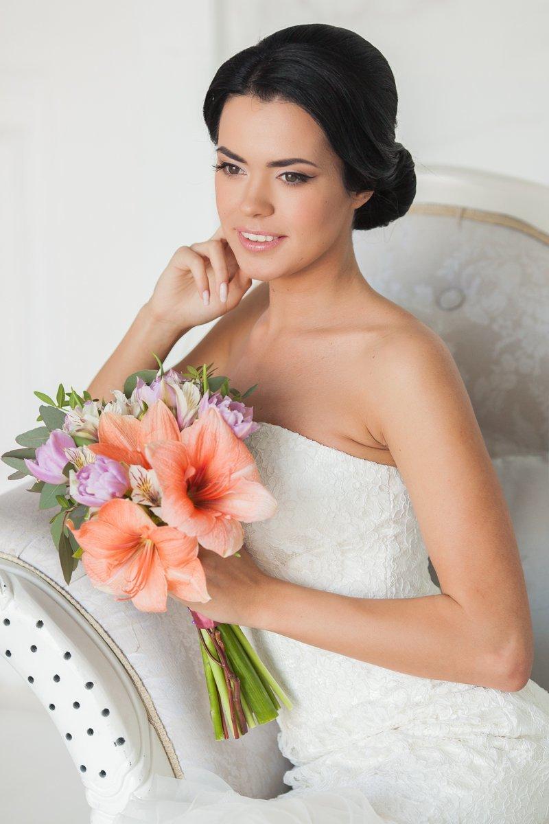 Букет невесты в романтичном стиле