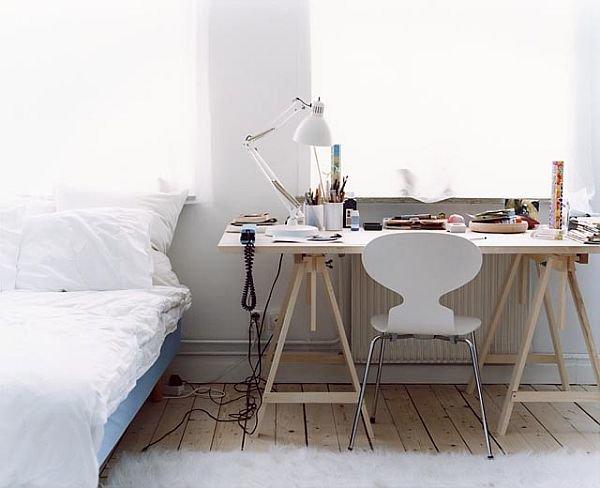 Идеи для домашнего офиса : Интерьер кабинета