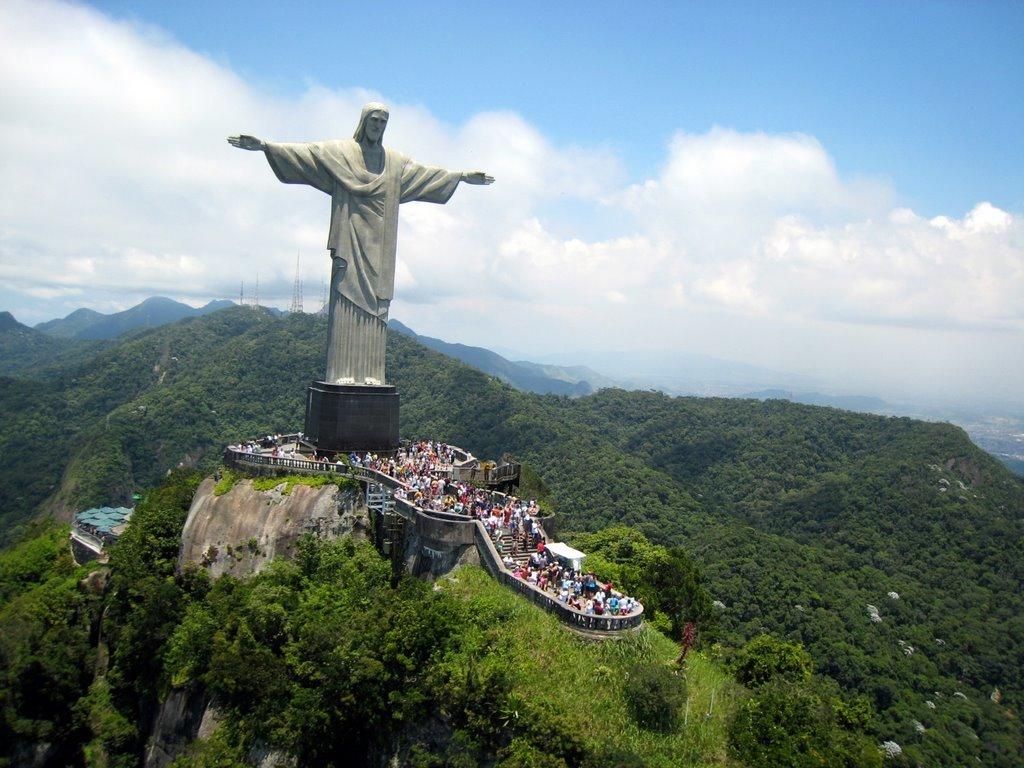 Чудеса света картинки статуя христа искупителя