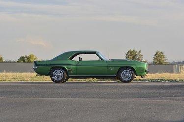 форд мустанг 1967 зеленый