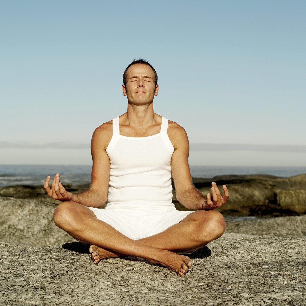 Человек медитирует картинки