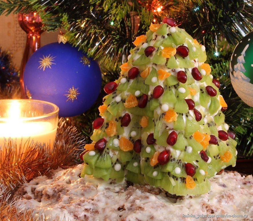 елка с фруктами картинка стремление свету, также