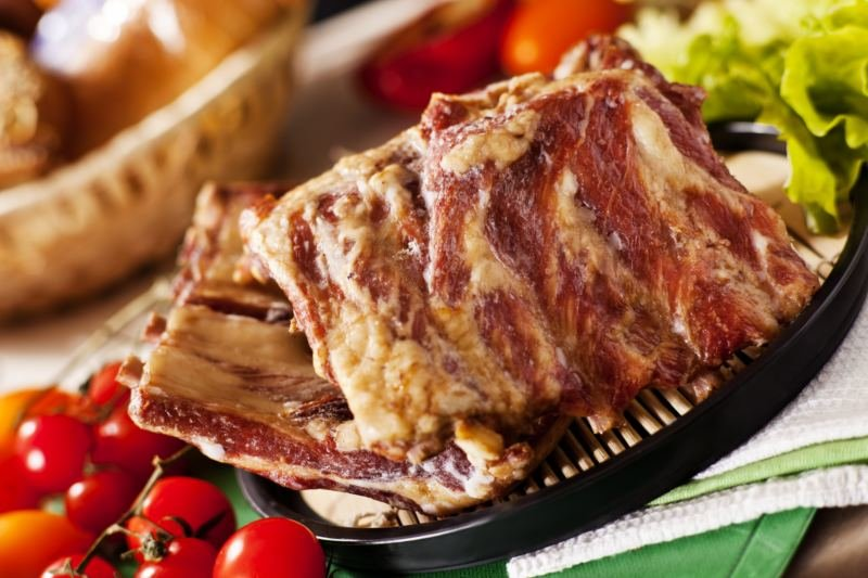 Копченые свиные ребрышки рецепт с фото