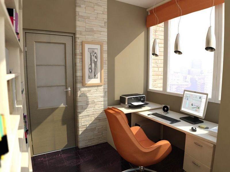 Счастливые обладатели балконных кабинетов отмечают комфорт и удобство такого рабочего места, а также рациональность решения с точки зрения экономии пространства.