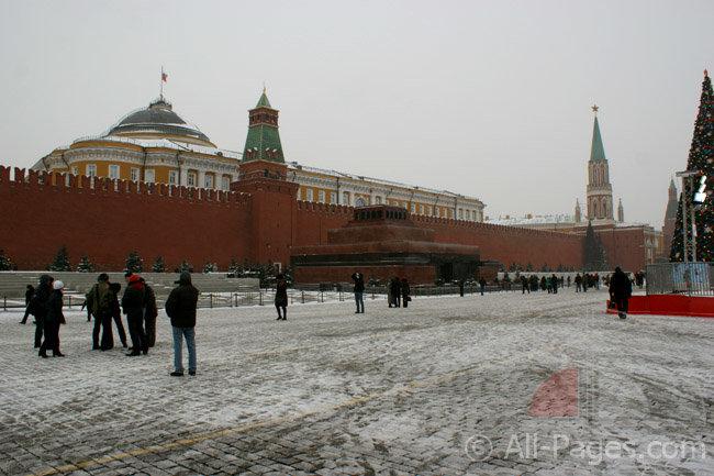 Мавзолей Ленина - Красная площадь