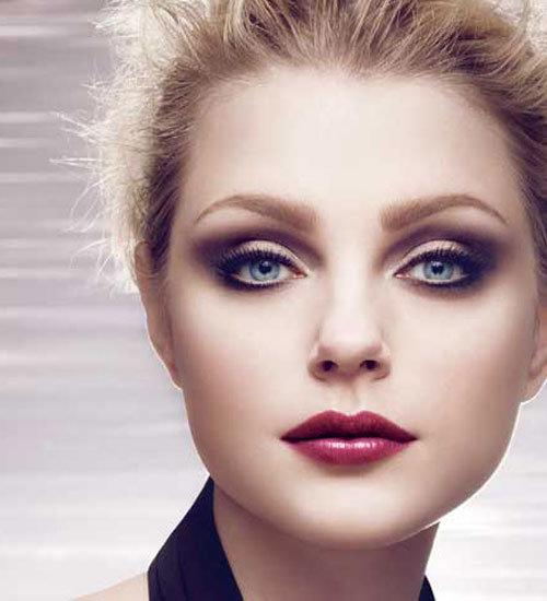 фото как красить круглые глаза