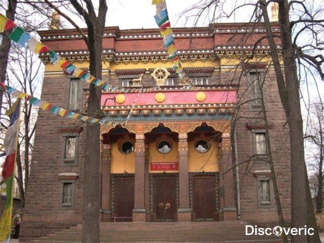 Буддийский храм - достопримечательности России