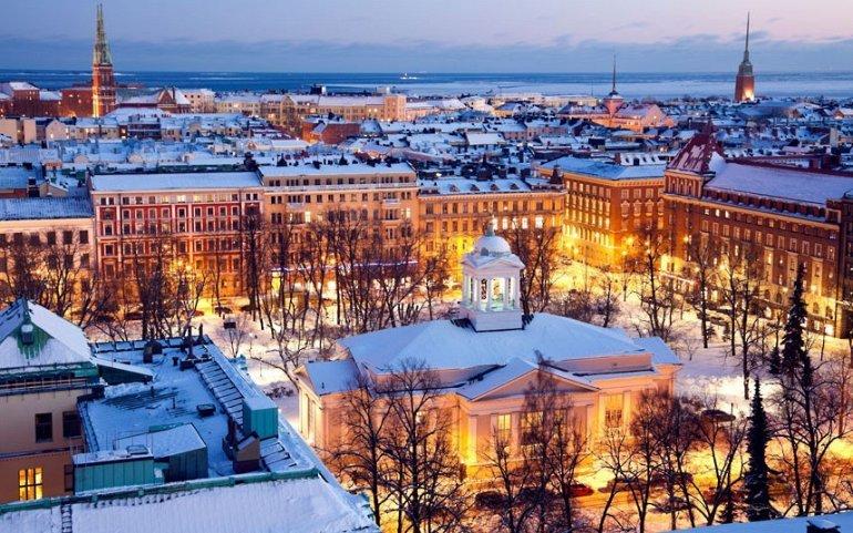 Хельсинки — отличный город для прогулок пешком, или на велосипеде.