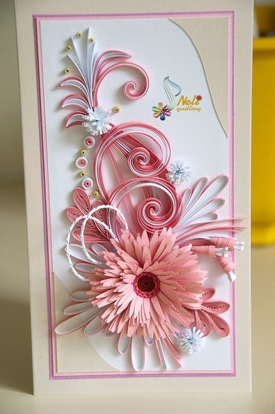 Поздравление свадьбой, открытка с цветами из бумаги своими руками мастер класс