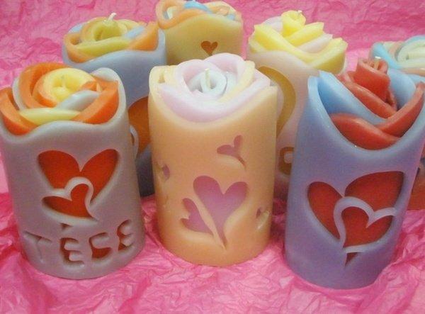 Изготовить парафиновые свечи