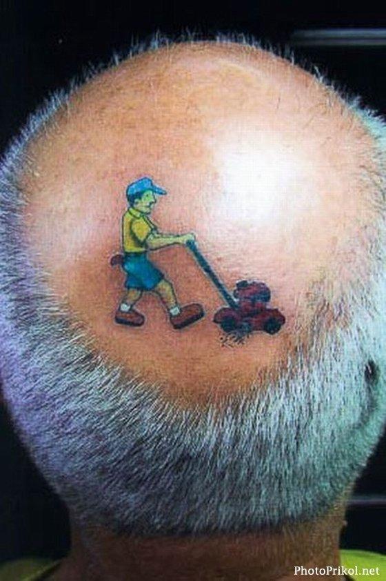 Фото прикольных татуировок для мужчин