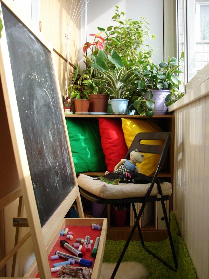 Идеи дизайна лоджии: переделка и совмещение с комнатой и кух.