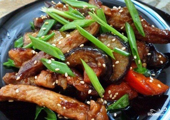 Свинина с овощами рецепты с фото