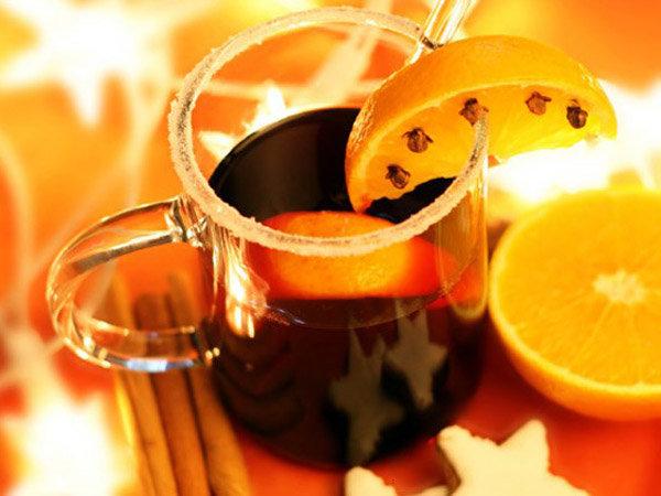 Крюшон апельсиновый