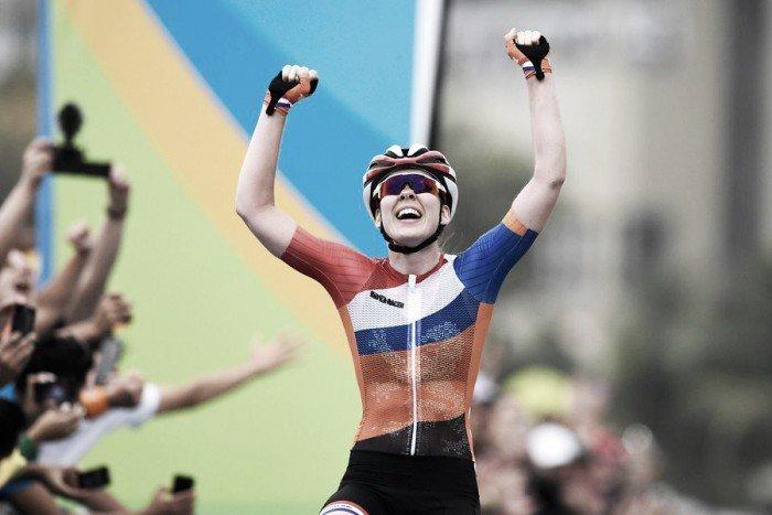 Анна ван дер Брегген. Шоссейная велогонка. Голландия. Золото
