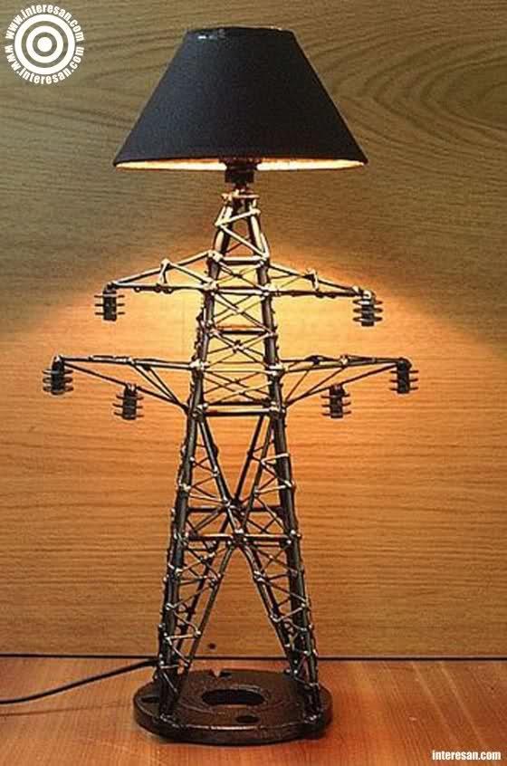 Подробная инструкция по созданию красивого светильника 92