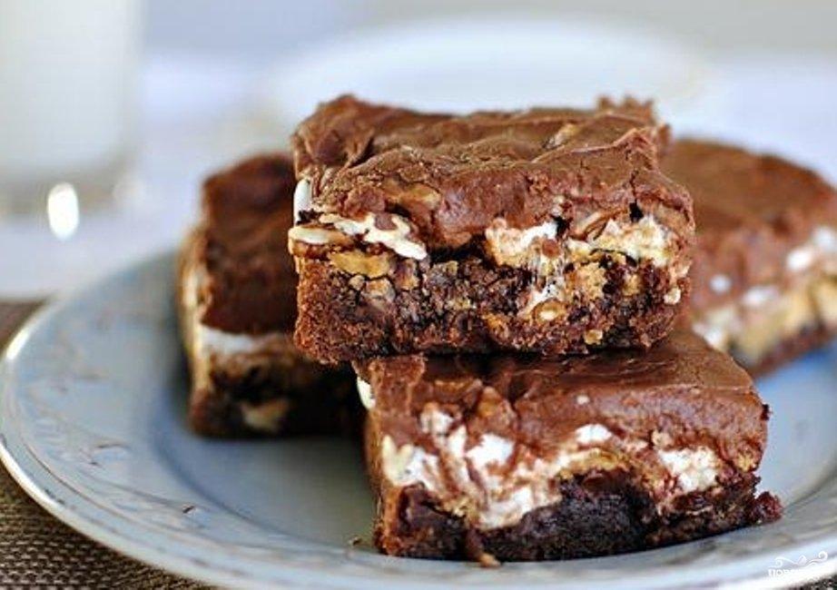 шоколадные пирожные рецепт с фото пошагово