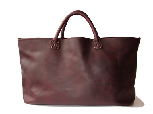 кожаная сумка ручной работы № 097 bordo - MAX SHAROV