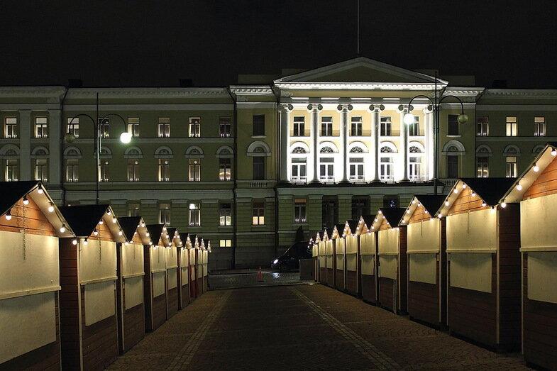 Фотоколлекция. Новогодний Хельсинки