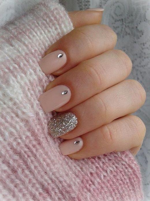 дизайн ногтей фото нежный