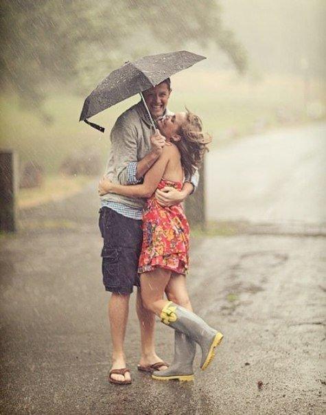 дождь фотосессия