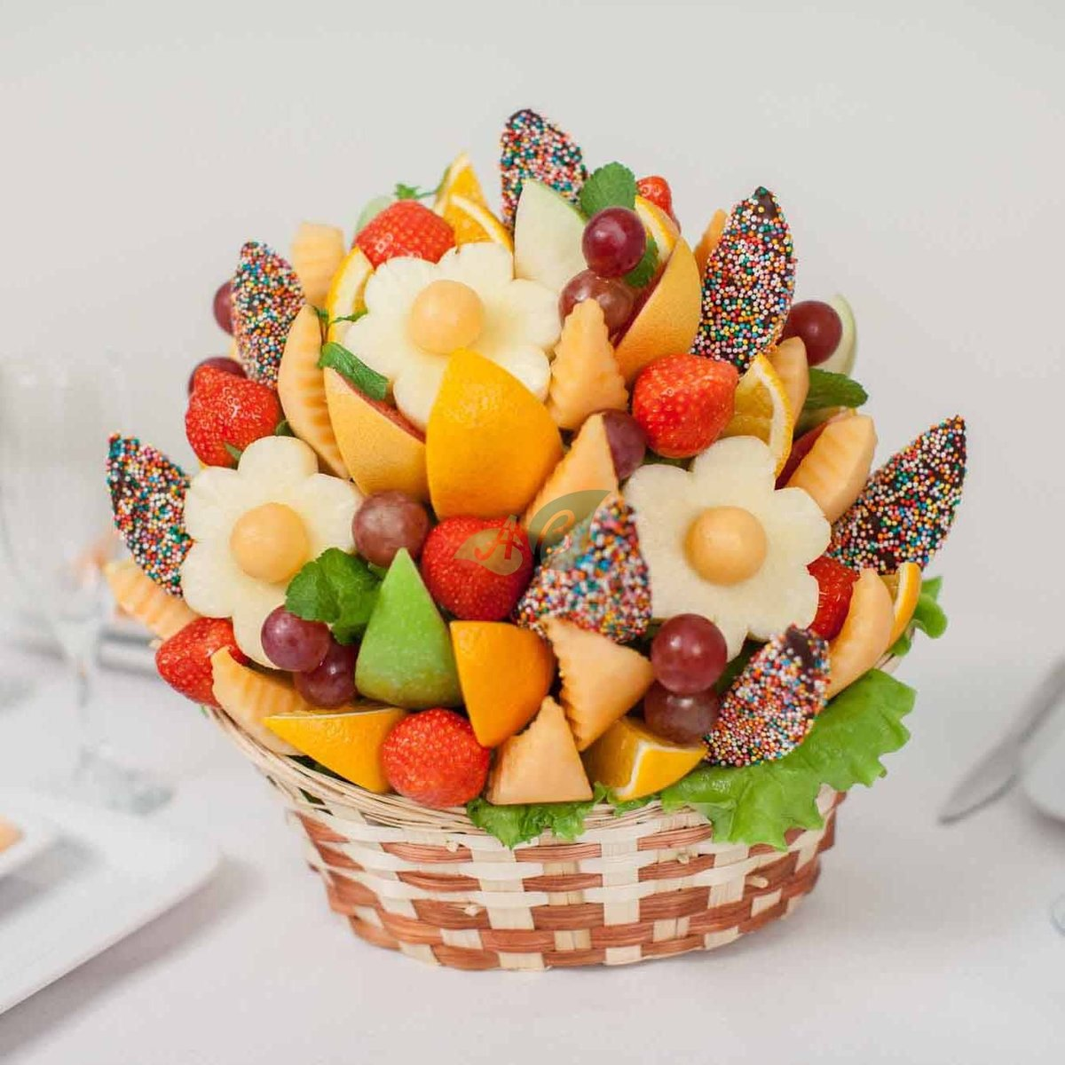С днем рождения картинки с фруктами, волка для детей