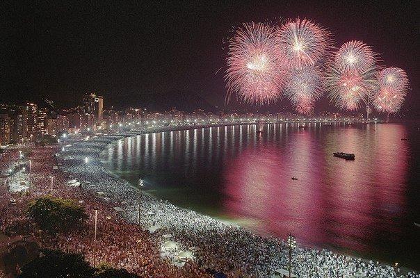 Рио-де-Жанейро, Новый год.
