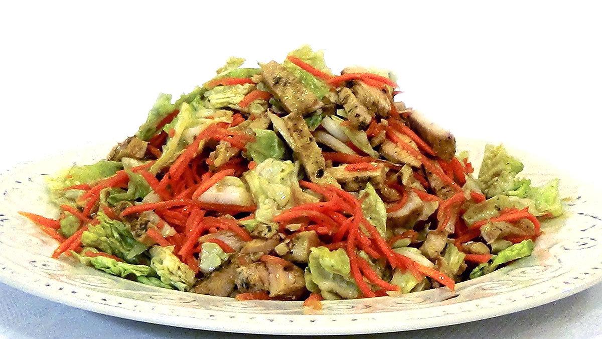 салат из пекинской капусты праздничный