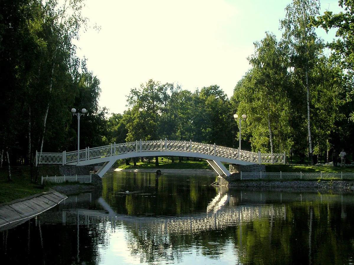Лианозовской парк в картинках