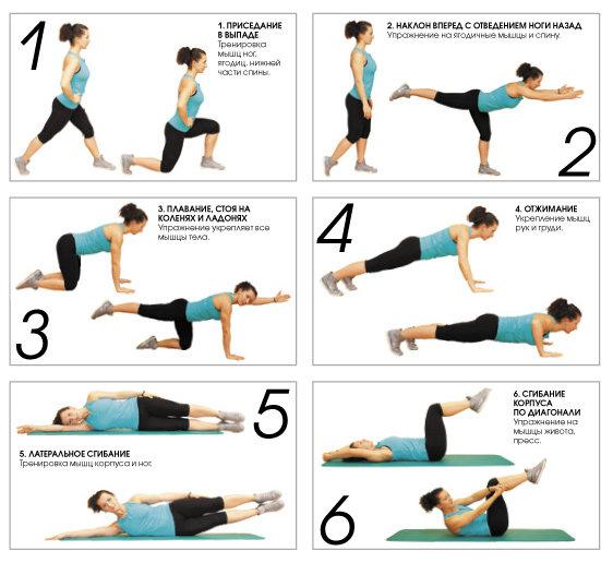 как похудеть за месяц упражнения и питание