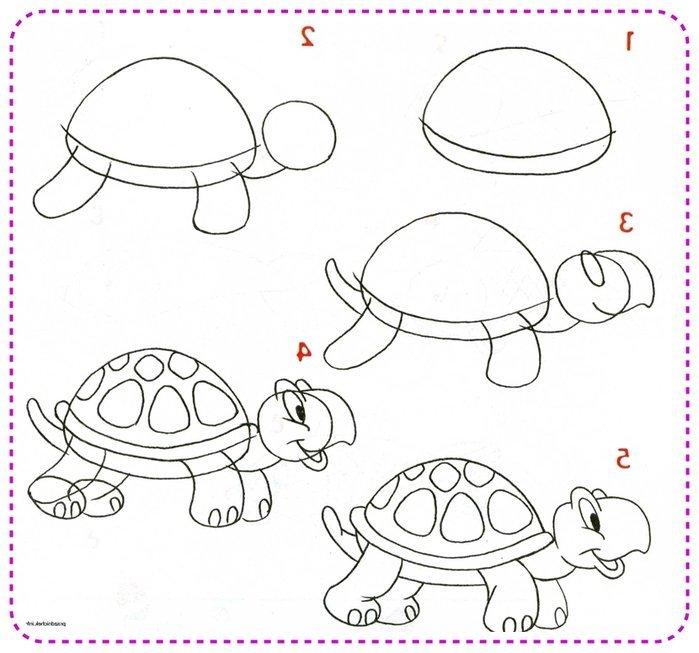 картинки как рисовать животных только мелькали