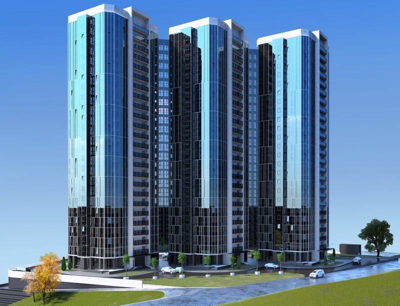 Жилой комплекс на ул. Фастовская - Новая Архитектура Фастовская 1