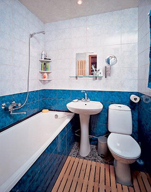 Идея для ванной комнаты в хрущевке