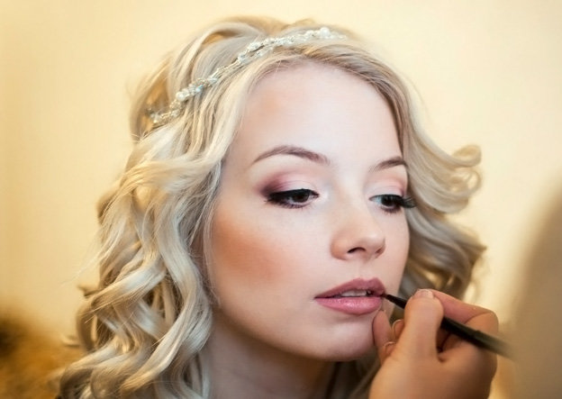 Свадебный макияж для блондинок фото