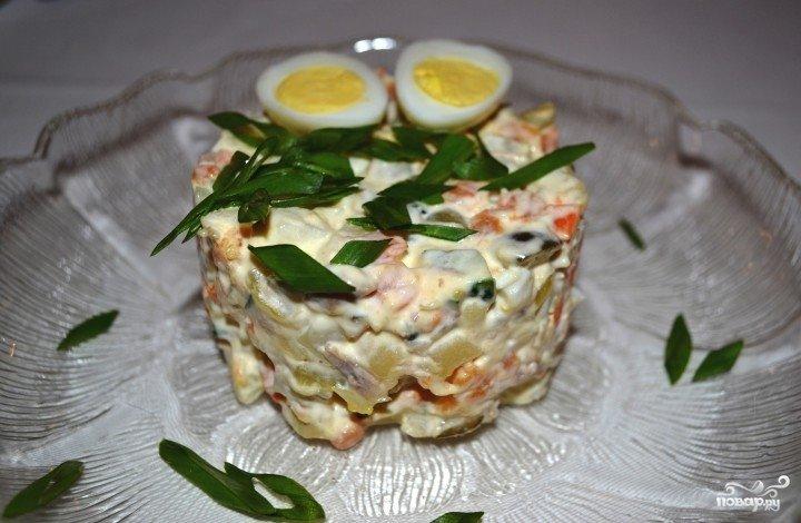 простой салат оливье рецепт фото