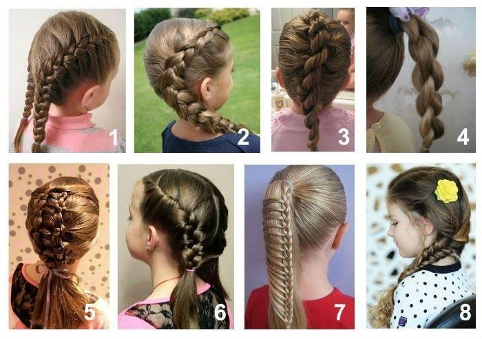 Прически для подростков девочек в школу на средние и длинные волосы