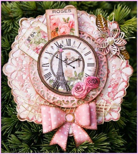 Открытка в виде часов своими руками, новорожденном открытки