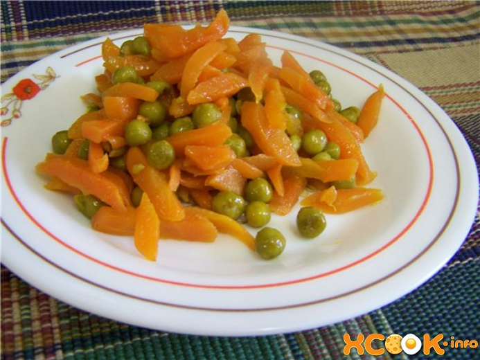 тушеная морковь рецепт