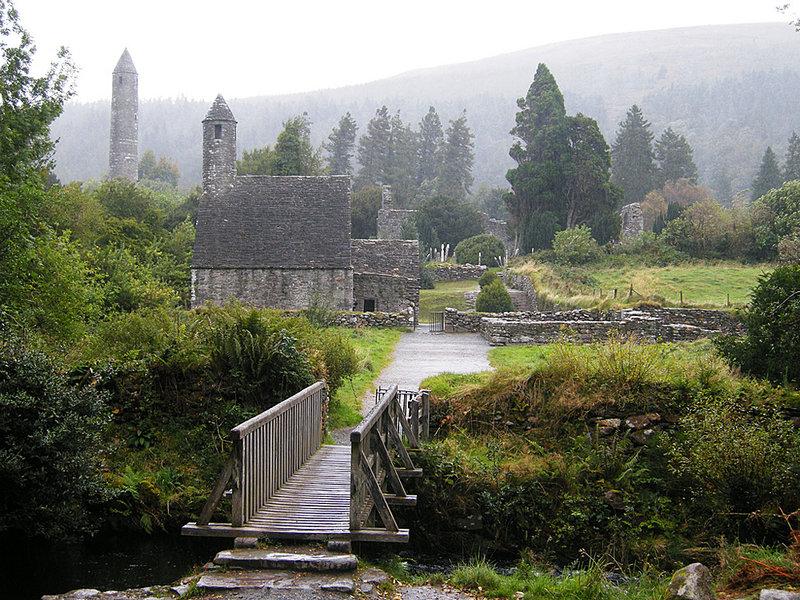 Глендалох, графство Уиклоу, Ирландия.