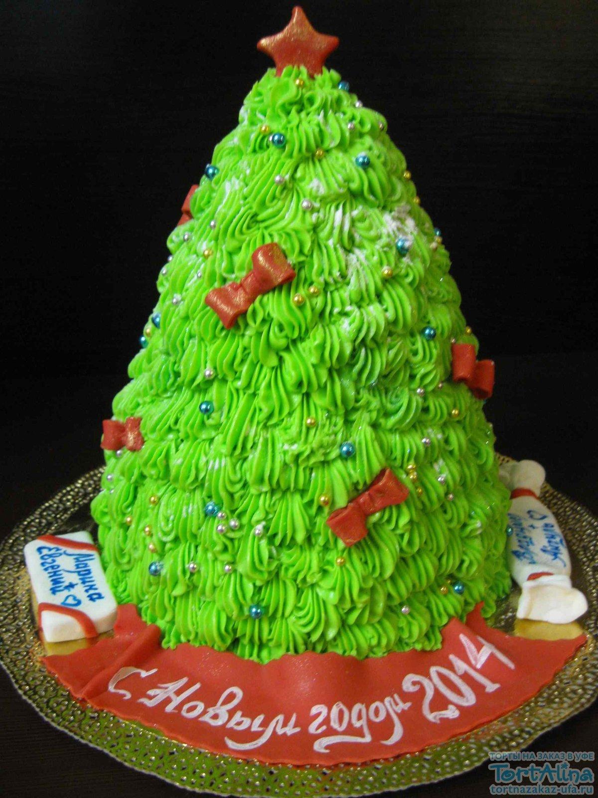 торт елка картинки они